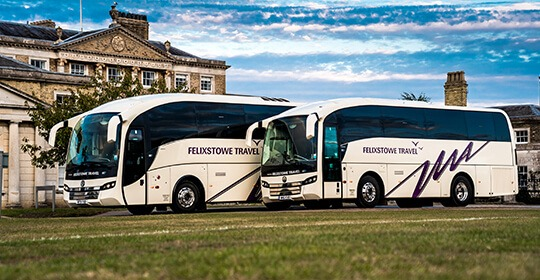 Coach Hire Suffolk